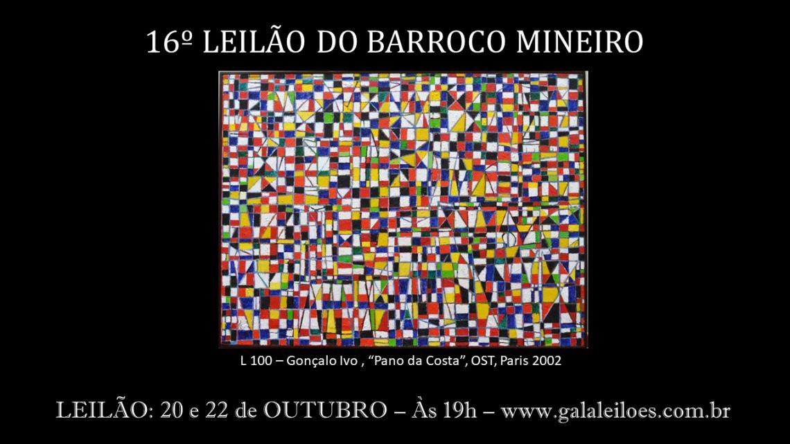 16º LEILÃO DO BARROCO MINEIRO