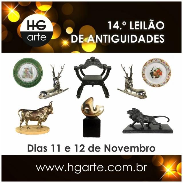 HG ARTE - 14.º LEILÃO DE ARTE E ANTIGUIDADES