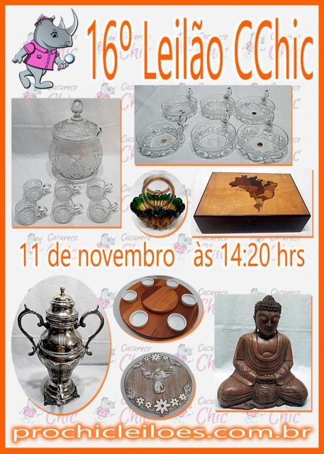 16º LEILÃO CCHIC
