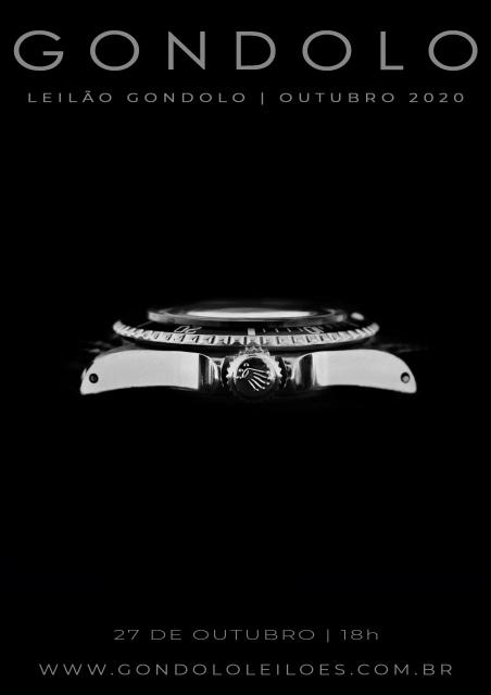 Leilão Gondolo - Relógios - Canetas - Outubro 2020