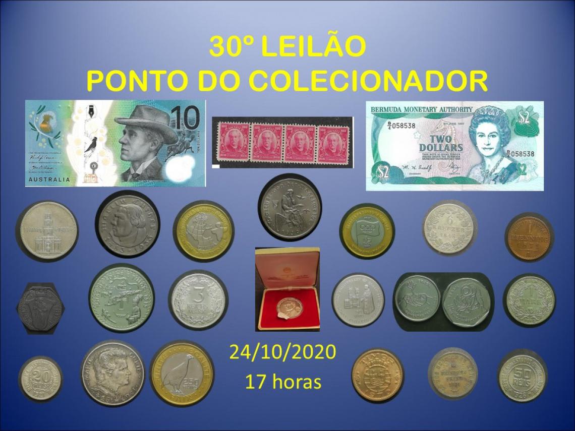 30º LEILÃO PONTO DO COLECIONADOR