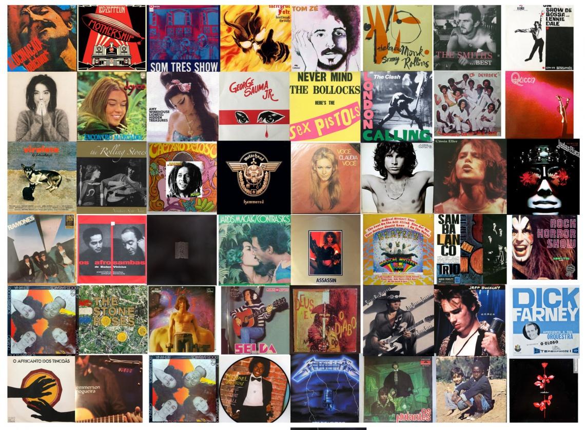 3º Grande Leilão Espaço da Música - Na Ponta da Agulha (O Melhor do Rock, Jazz, Bossa & MPB)