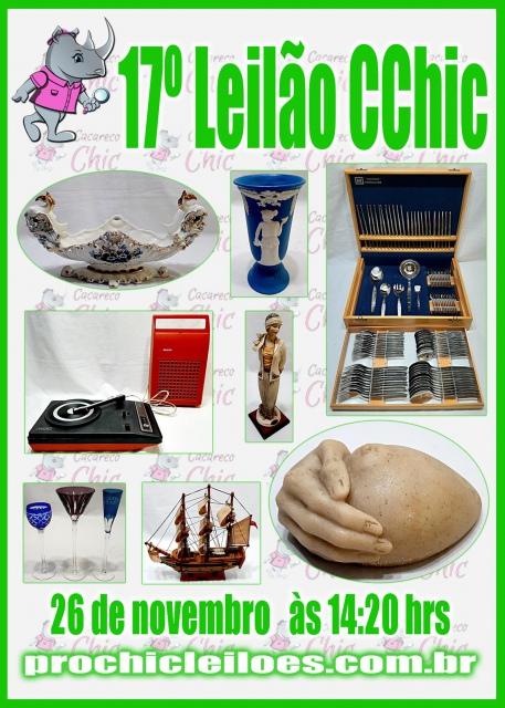 17º LEILÃO CCHIC