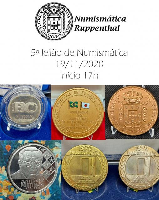 5º Leilão de Numismática