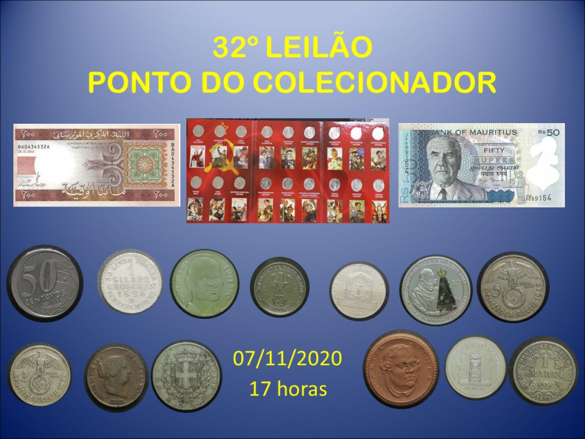 32º LEILÃO PONTO DO COLECIONADOR