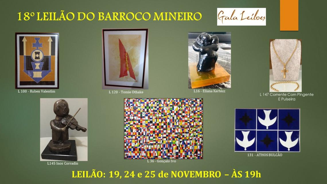 18º LEILÃO DO BARROCO MINEIRO