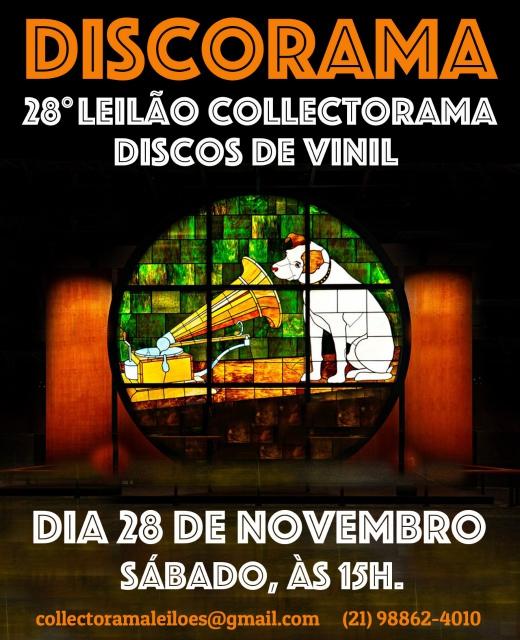 DISCORAMA - 28º LEILÃO COLLECTORAMA DE DISCOS DE VINIL