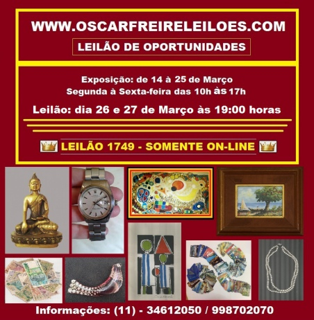 LEILÃO DE OPORTUNIDADES (11)  3461-2050