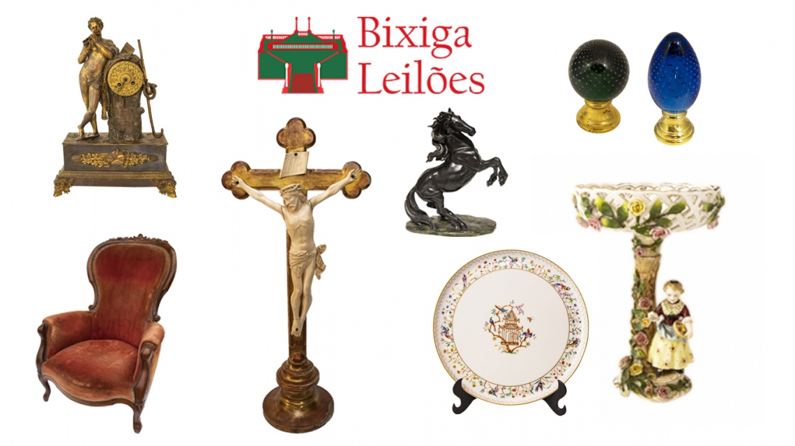 2 LEILÃO: Tiffany, Christofle, Marfins, Tapetes Persa, Sèvres, Limoges, Kaiser, Royal Doulton etc.