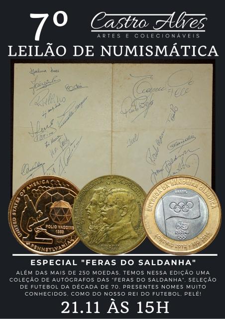 7º LEILÃO CASTRO ALVES DE NUMISMÁTICA