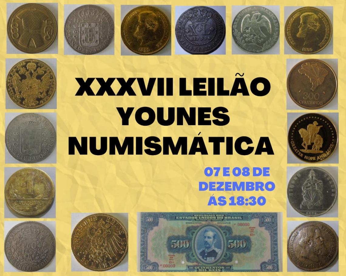 XXXVII LEILAO  YOUNES NUMISMATICA