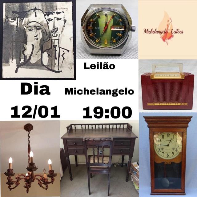 LEILÃO MICHELANGELO - JANEIRO 2021.