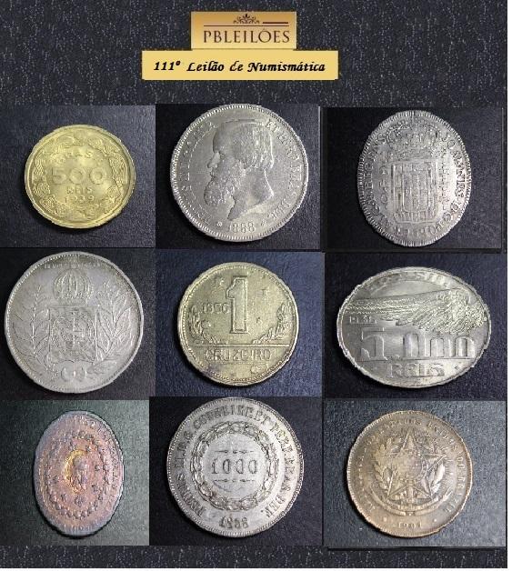 111º Leilão de Numismática Pbleiloes