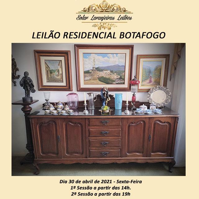 LEILÃO RESIDENCIAL BOTAFOGO - Rua São Clemente