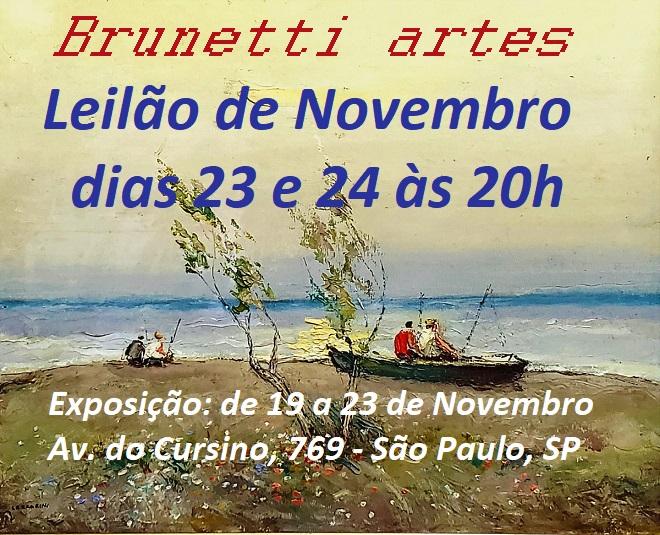 BRUNETTI LEILÃO DE ARTE E ANTIGUIDADES