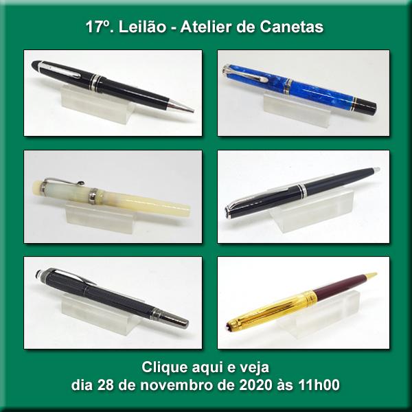 17º Leilão Atelier de Canetas - 28/11/2020 - 11h00