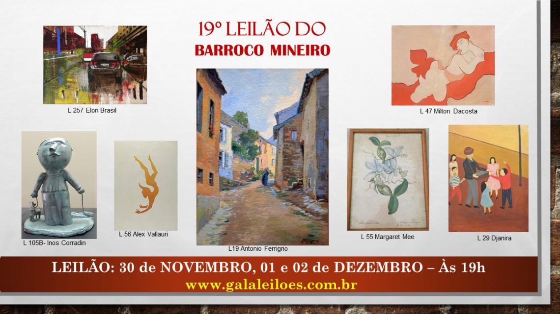 19º LEILÃO DO BARROCO MINEIRO