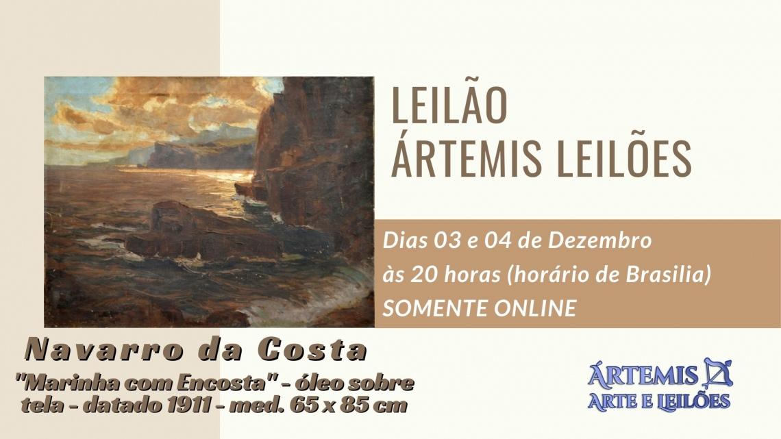 LEILÃO DE ARTE ÁRTEMIS LEILÕES