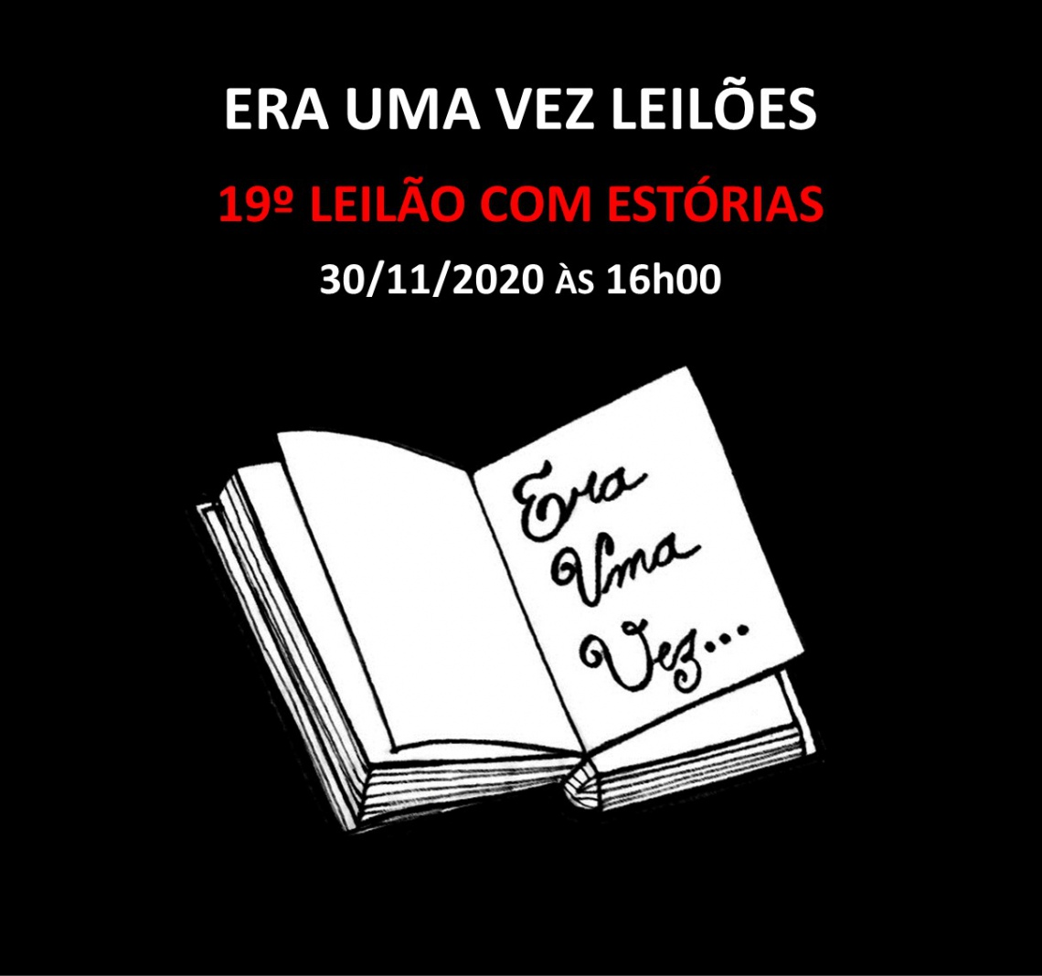 19º LEILÃO COM ESTÓRIAS - 30/11/2020 às 16h00
