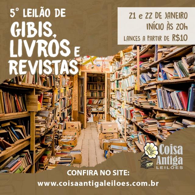 6º LEILÃO DE DISCOS DE VINIL - COISA ANTIGA LEILÕES