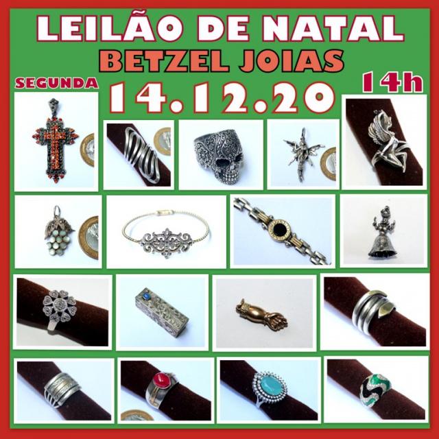 LEILÃO DE NATAL BETZEL JOIAS.