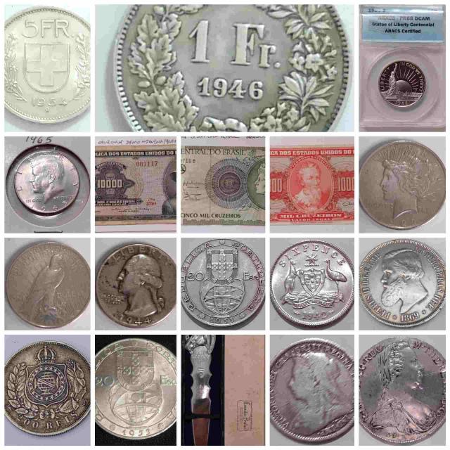 29º Leilão Numismart - Moedas, Cédulas, Medalhas