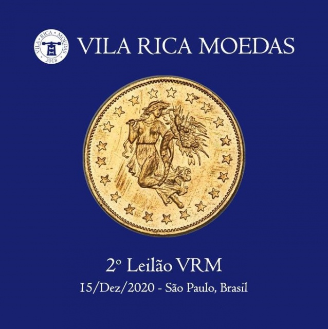 2º Leilão Vila Rica Moedas