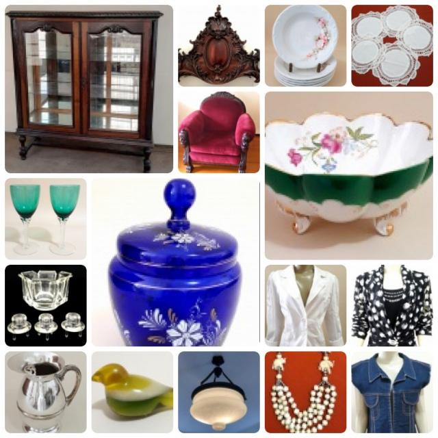 ESPÓLIO SÔNIA MUSOLINO - Antiguidade, Móvel, Porcelana, Cristal, Vestuário, Acessório e Decoração.