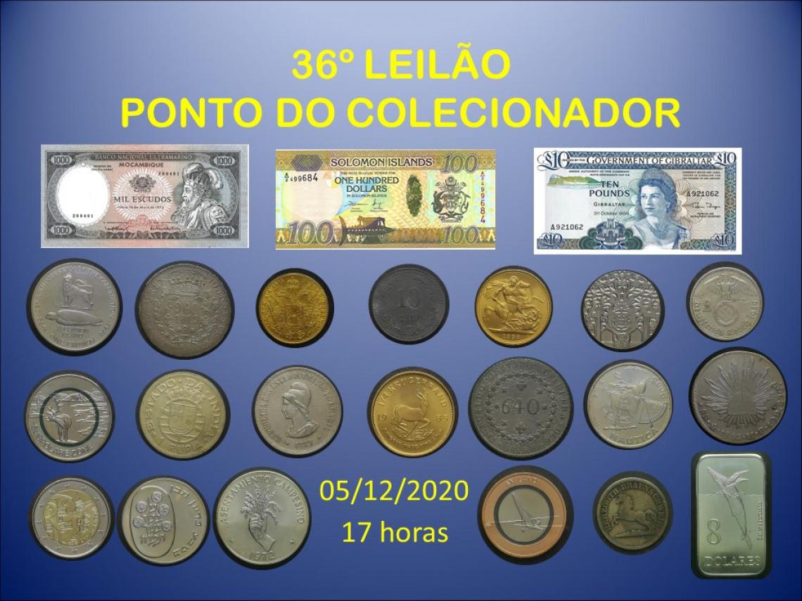 36º LEILÃO PONTO DO COLECIONADOR