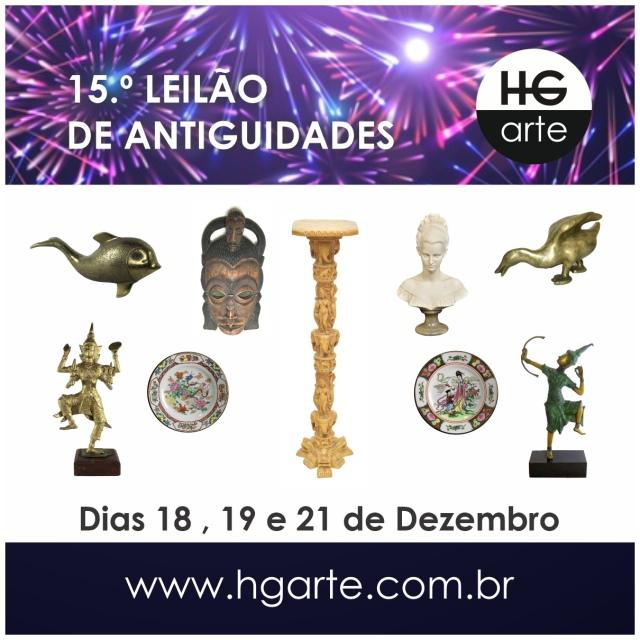 HG ARTE - 15.º LEILÃO DE ARTE E ANTIGUIDADES