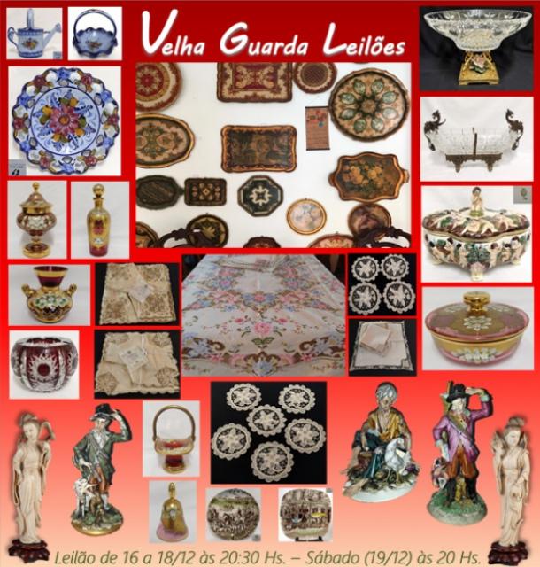 49º LEILÃO VELHA GUARDA LEILÕES - Arte, Antiguidades, Decoração e Colecionismo