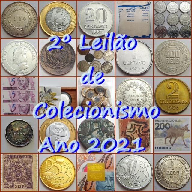 2º LEILÃO DE COLECIONISMO ANO 2021