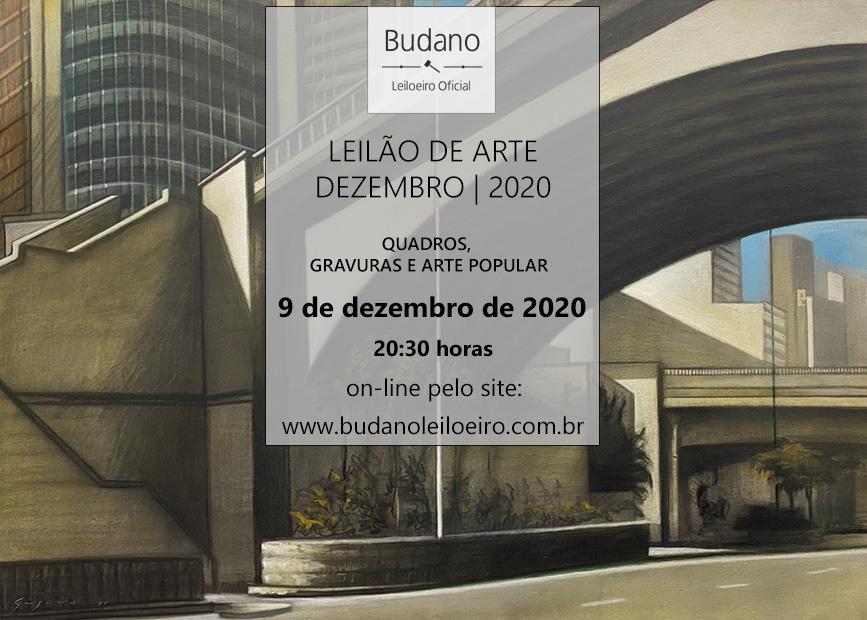 LEILÃO DE ARTE E OPORTUNIDADES - DEZEMBRO 2020