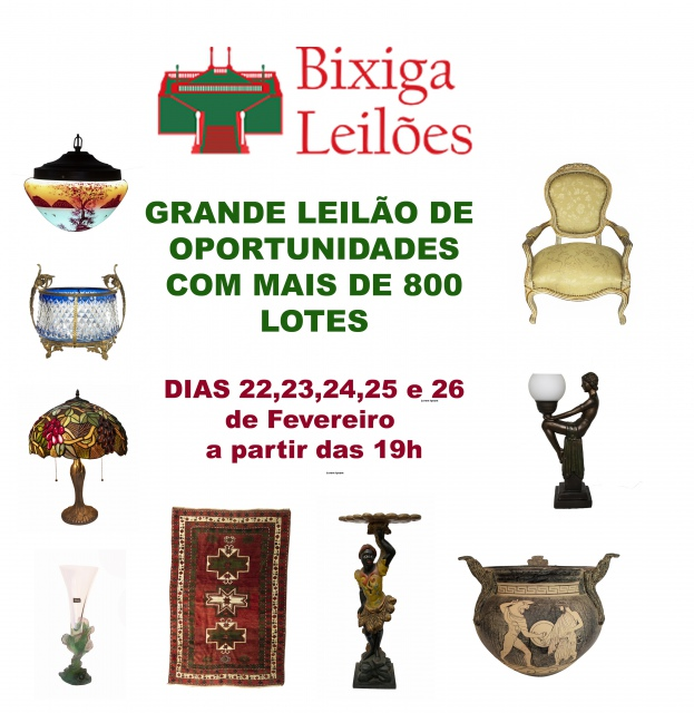 3º LEILÃO DE ARTE E ANTIGUIDADES