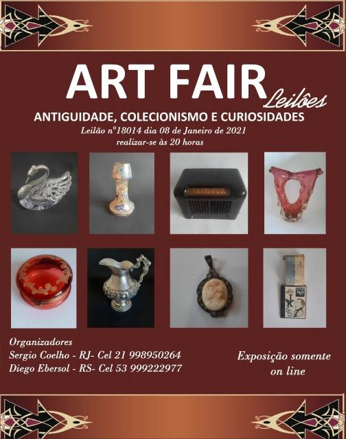 LEILÃO ART FAIR - ANTIGUIDADE, COLECIONISMO E CURIOSIDADES