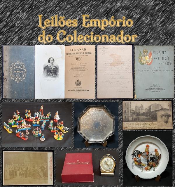 LEILÃO DE COLECIONISMO, ARTES E ANTIGUIDADES.