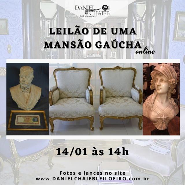 LEILÃO DE UMA MANSÃO GAÚCHA