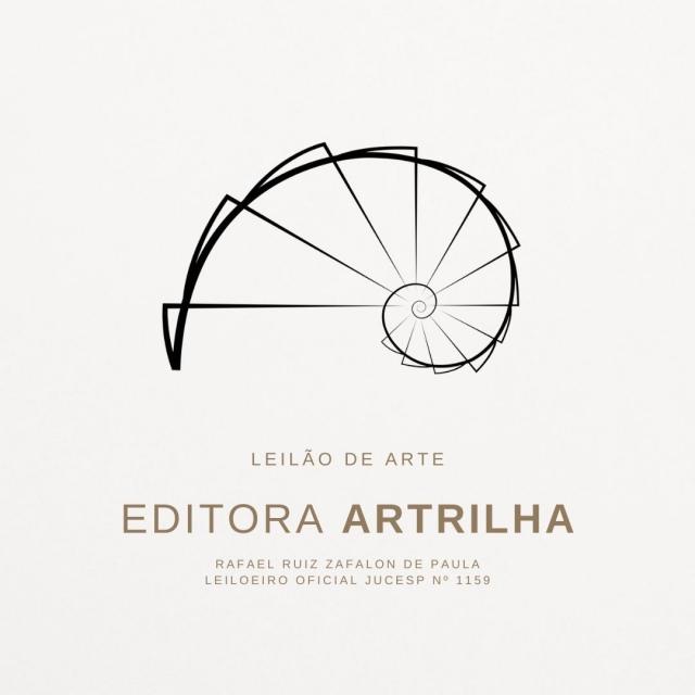 1º LEILÃO DE ARTE DA EDITORA ARTRILHA