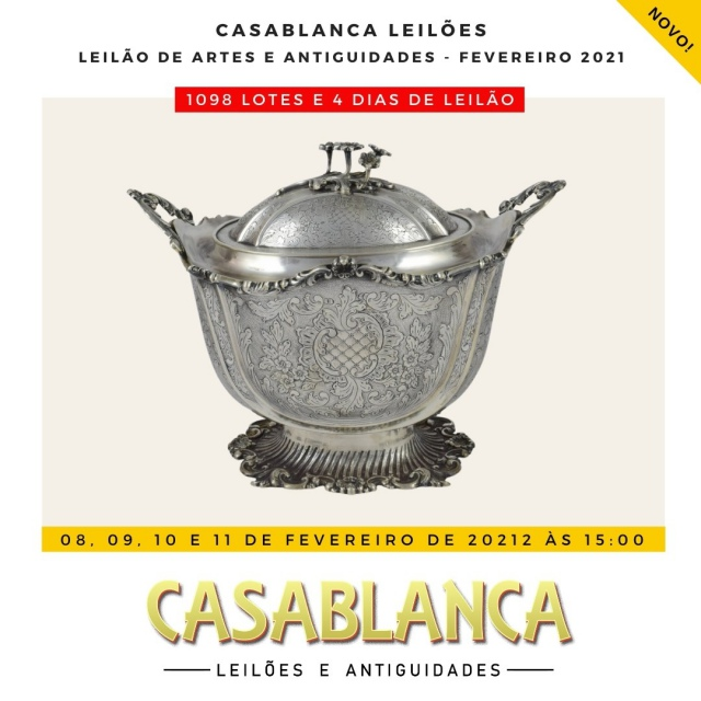 LEILÃO CASABLANCA - FEVEREIRO DE 2021