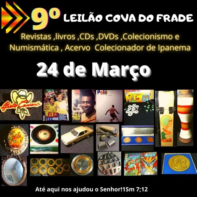 LEILÃO COVA DO FRADE-FORTE NUMISMÁTICA E COLECIONISMO DE JANEIRO