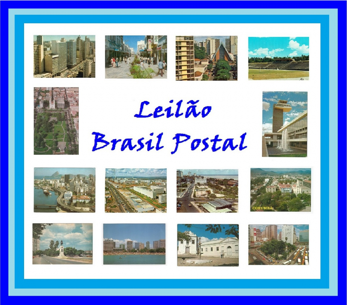 LEILÃO BRASIL POSTAL - JANEIRO 2021