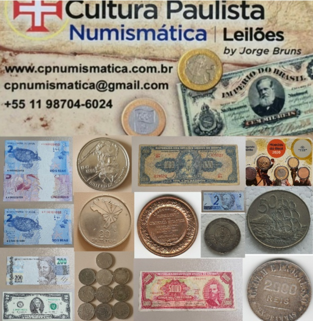 19º LEILÃO CULTURA PAULISTA NUMISMÁTICA