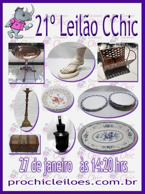 21º LEILÃO CCHIC