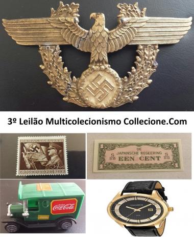 3º LEILÃO MULTICOLECIONISMO COLLECIONE.COM