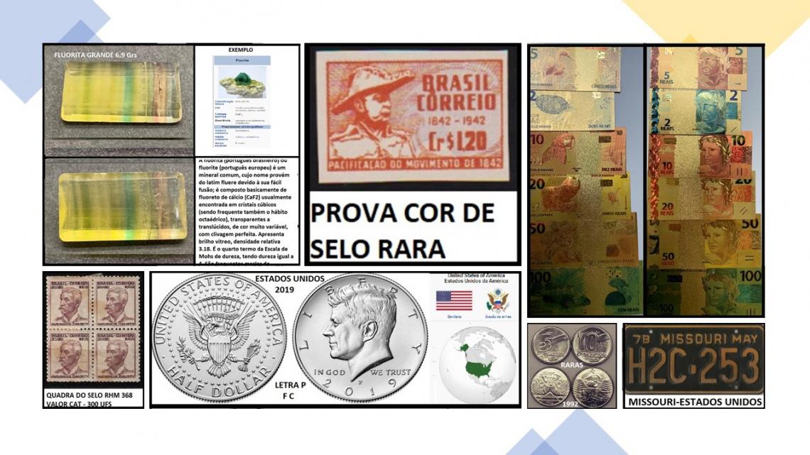 49º LEILÃO COINS E STAMPS - SELOS, MOEDAS E CÉDULAS PARA SUA COLEÇÃO!!!