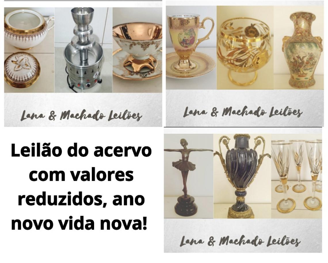 LEILÃO DO ACERVO COM VALORES REDUZIDOS,ANO NOVO VIDA NOVA.