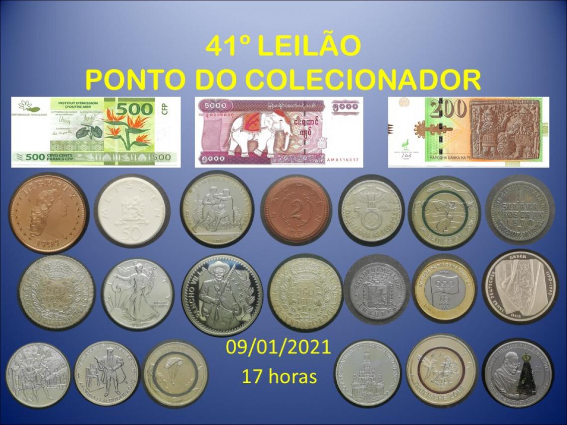41º LEILÃO PONTO DO COLECIONADOR