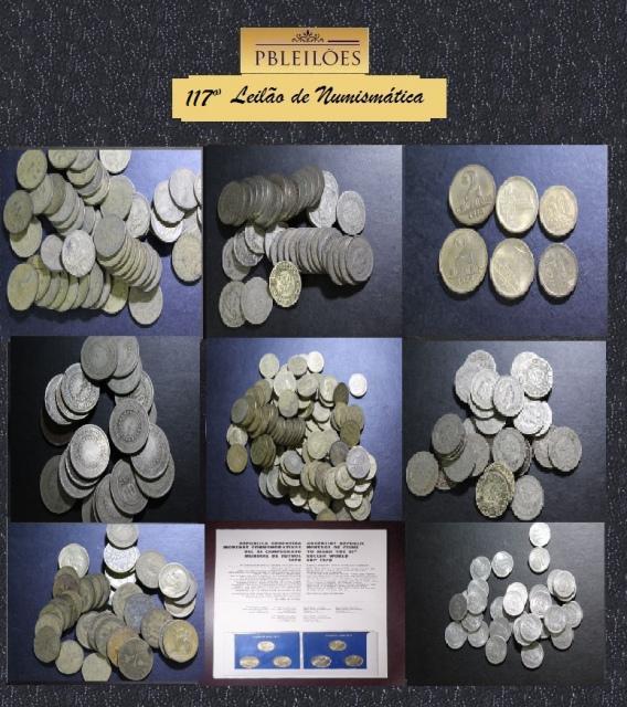 117º Leilão de Numismática Pbleiloes
