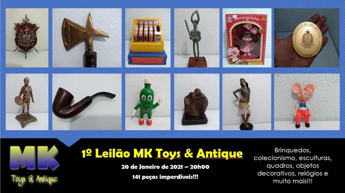 1º Leilão MK Toys & Antique