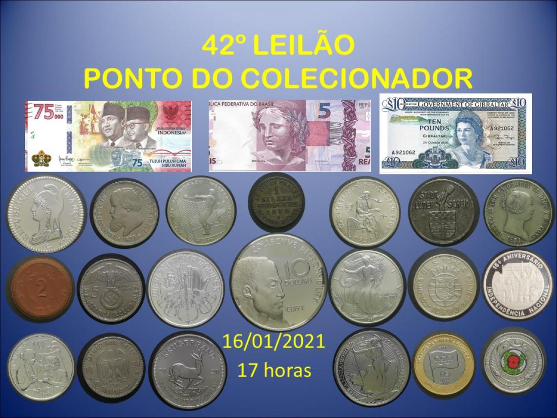 42º LEILÃO PONTO DO COLECIONADOR